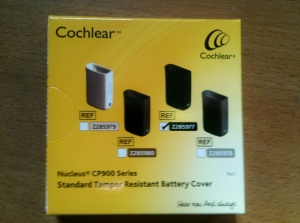 Cochlear Batteriefach