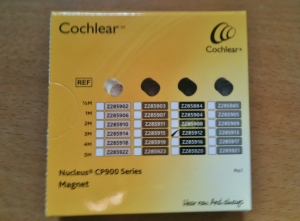 Cochlear Magnet